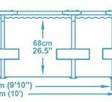 Bestway-56408-Steel-Pro-Piscina-desmontable-tubular-305-x-76-cm-4678-litros-0-4