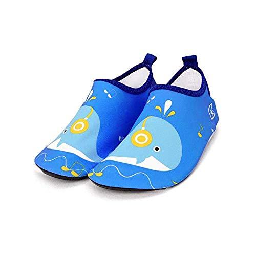Bwiv-Zapatos-de-Agua-Nios-Bebes-Natacin-Zapatos-de-Nios-Escarpines-Descalzos-Calcetines-Ligero-Antideslizante-para-Playa-Piscina-0