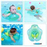 HONGCI-Flotador-de-Natacin-para-Bebs-con-Asiento-AnilloBeb-Recin-Nacido-Aprende-a-Nadar-Entrenador-Inflable-Flotador-Ajustable-para-Piscinas-para-BebsAnillo-de-Natacin-para-Bebs-0-5