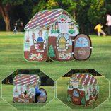 Homfu-3-en-1-Juegos-Parque-Infantil-tnel-Casa-para-Muchachos-Muchachas-para-Al-Aire-Libre-Caminatas-Chilren-Playtent-con-Popup-Design-0