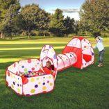 MAIKEHIGH-InteriorExterior-tnel-del-Juego-y-la-Tienda-del-Juego-de-Cubby-de-Tubo-Tipi-3-en-1-Zona-de-Juegos-Infantil-para-bebs-Juguetes-para-nios-Bolas-NO-Incluido-0-0