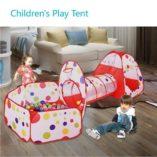 MAIKEHIGH-InteriorExterior-tnel-del-Juego-y-la-Tienda-del-Juego-de-Cubby-de-Tubo-Tipi-3-en-1-Zona-de-Juegos-Infantil-para-bebs-Juguetes-para-nios-Bolas-NO-Incluido-0-5