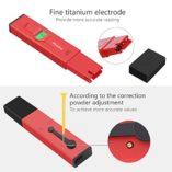 Medidor-ph-agua-precisoPreciva-medidor-ph-digital-profesional-con-Pantalla-LCD-Retroiluminada4-Batera-Incluida-y-con-4-paquetes-de-Polvos-de-Calibracin-para-Neutralizar-el-lquidoRojo-0-2