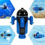 Mini-Barco-de-Radiocontrol-Barco-Teledirigido-Sumergible-a-Prueba-de-Agua-Submarino-Modelo-de-Juguete-de-bao-para-baera-Piscinas-Lagos-0-1