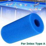 SmartHitech-Filter-Sponge-Filtro-de-Piscina-para-la-Herramienta-limpiadora-de-Filtro-Reutilizable-Lavable-Intex-Tipo-A-Esponja-de-Cartucho-de-Espuma-1p-Azul-Cielo-0-7