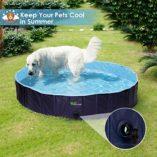 amzdeal-600L-Piscina-para-Perros-Baera-Plegable-para-Mascotas-Piscina-Grande-Resistente-y-Estable-PVC-Antideslizante-Mltiples-Usos-para-Mascotas-y-Nios-16030cm-0-4
